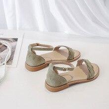 Women Sandals Wedges Women's Shoes Chunky Sandals Female Summer Beach Ladies Shoes Open Toe Beach Fe