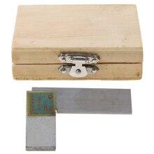 Jauge règle dangle 63*40mm 90 degrés   Angle de qualité 1 outils carrés à 90 degrés outils de mesure en acier inoxydable