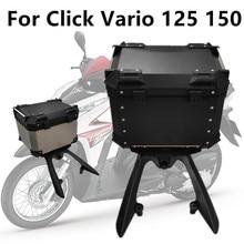 Motocicleta para Honda Click 125i 150i Vario 125 150, caja trasera para equipaje trasero, caja de almacenamiento superior para maletero resistente al agua 45L 55L 65L