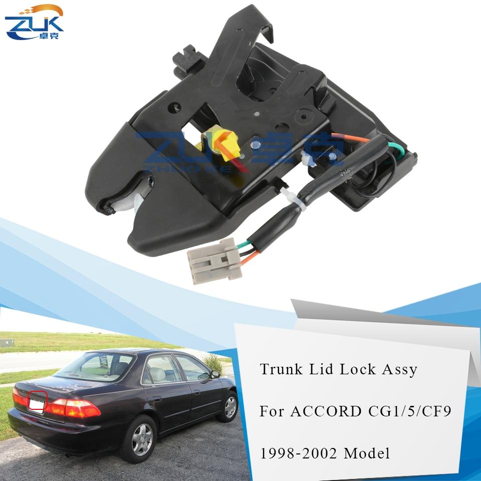 ZUK puerta trasera del maletero tapa cerradura actuador para HONDA ACCORD 1998 1999 2000 2001 2002 OE #74851-S84-A61 74851-S84-A21