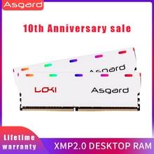 Asgard W1 Serie Rgb Ram Memoria 8 Gb 2X8GB 16 Gb DDR4 3200 Mhz 1.35V Ram Voor Desktop Dimm dual-Channel