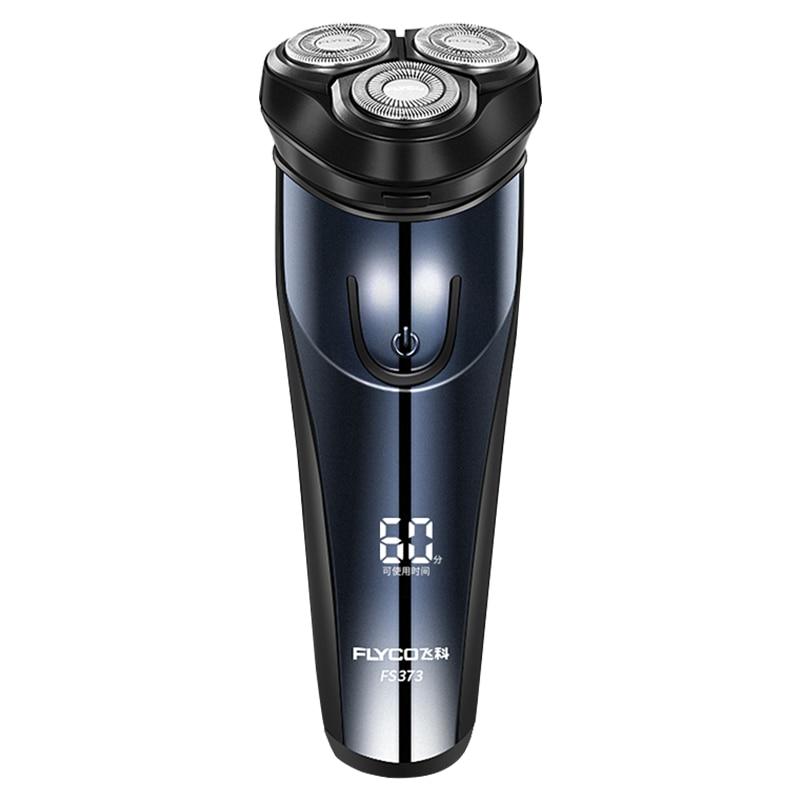 Flyco-Afeitadora eléctrica FS373 Para Hombre, afeitadora De barba a la moda, maquinilla...