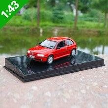 Haute méticuleuse 143 VW GOLF alliage modèle voiture statique métal modèle véhicules boîte dorigine pour la Collection de cadeaux
