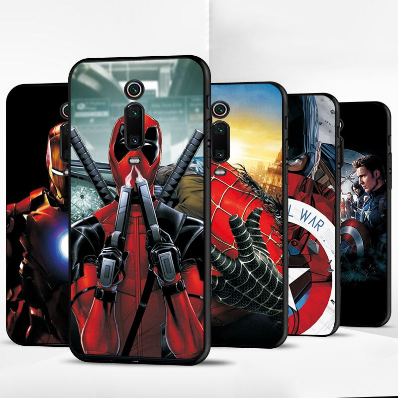 Чехол s для Xiaomi mi 9T чехол Hero Marvel Мягкий ТПУ черный чехол для Xiaomi mi 9T Pro mi 9T mi 8 mi 8SE mi 9 mi 9SE чехол для телефона