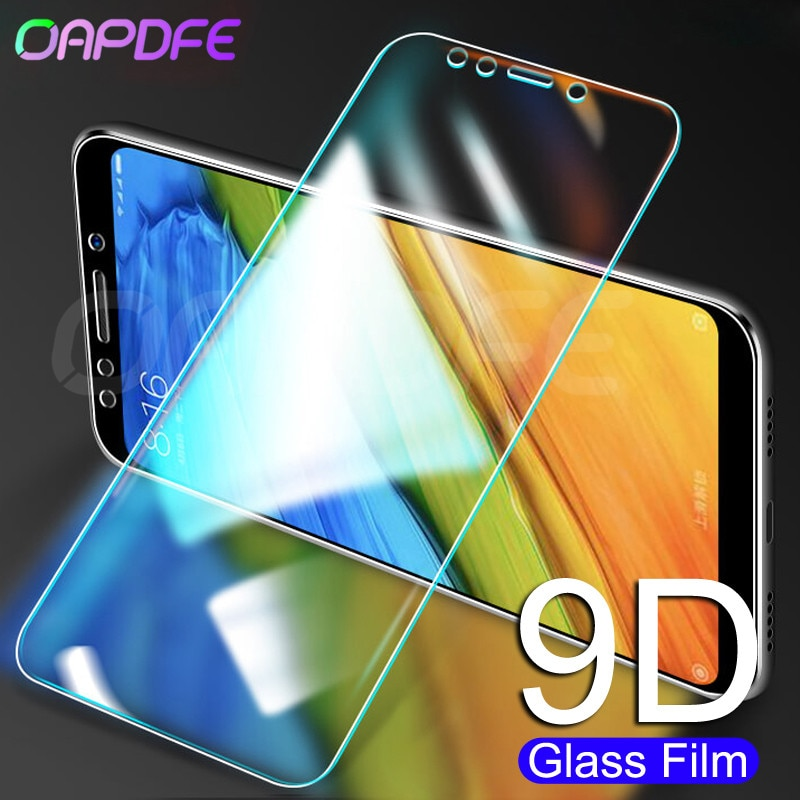 De vidrio templado 9H para Xiaomi Redmi Note 4 4X 5 5A Pro Redmi 5 Plus 5A 4 4X 4A S2 K20 Protector de pantalla película de vidrio