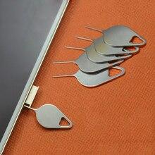 5PCS Sim Karte Tray Entfernung Eject Pin Tool Edelstahl Nadel für iPhone iPad Samsung für Huawei xiaomi
