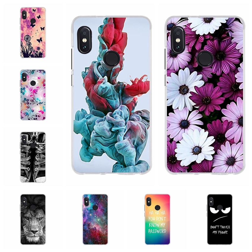 Case For Xiaomi Redmi Note 5 Cover Case Silicone Soft TPU Bumper Back Cover for Fundas Xiaomi Redmi
