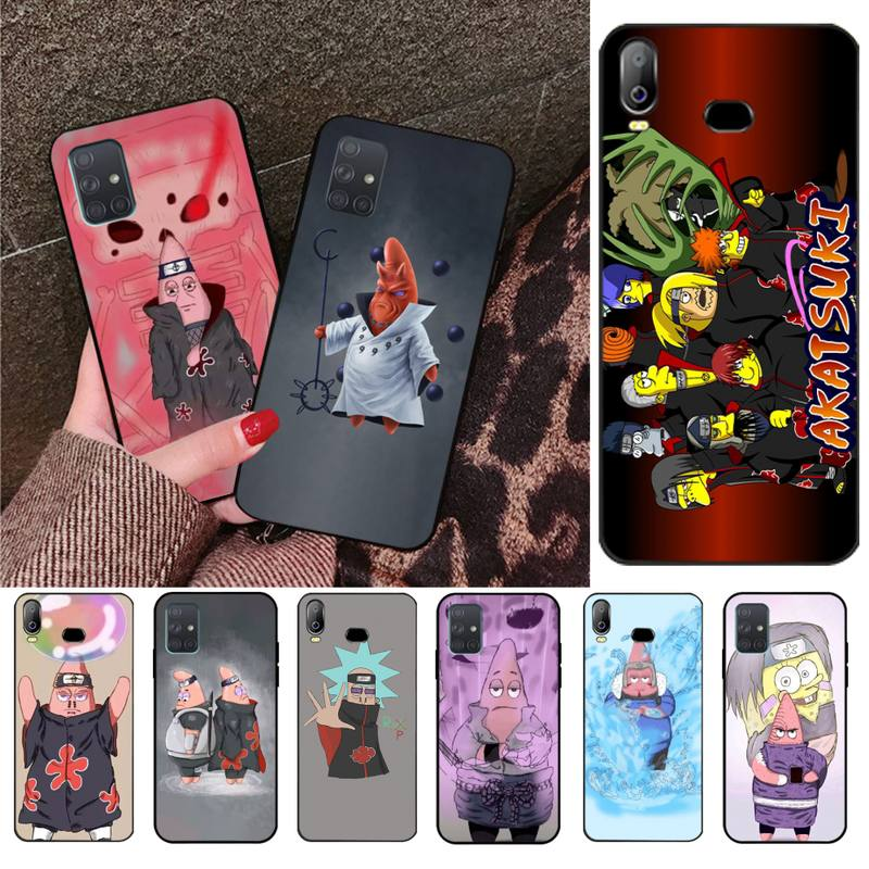 HPCHCJHM Funny Naruto and Piestar Customer High Quality Phone Case For Samsung A10 A20 A30 A40 A50 A70 A71 A51 A6 A8 2018