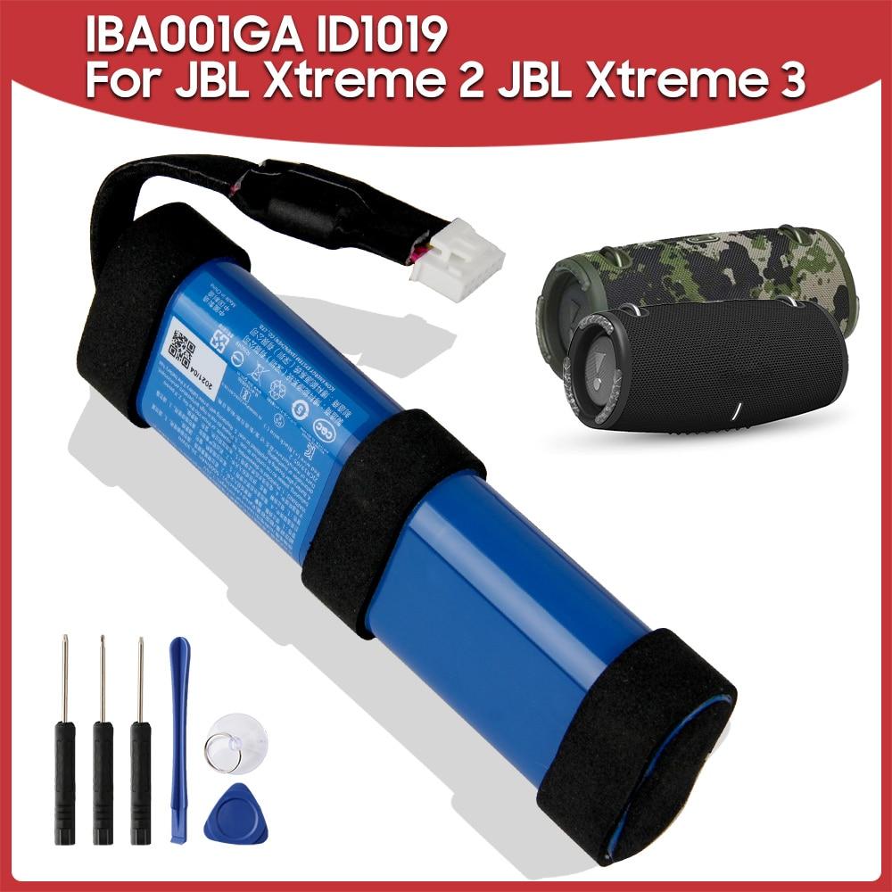 بطارية بديلة أصلية IBA001GA ID1019 5000mAh متوافقة مع JBL Xtreme 2 JBL Xtreme 3 Xtreme2 Xtreme سمّاعات بلوتوث