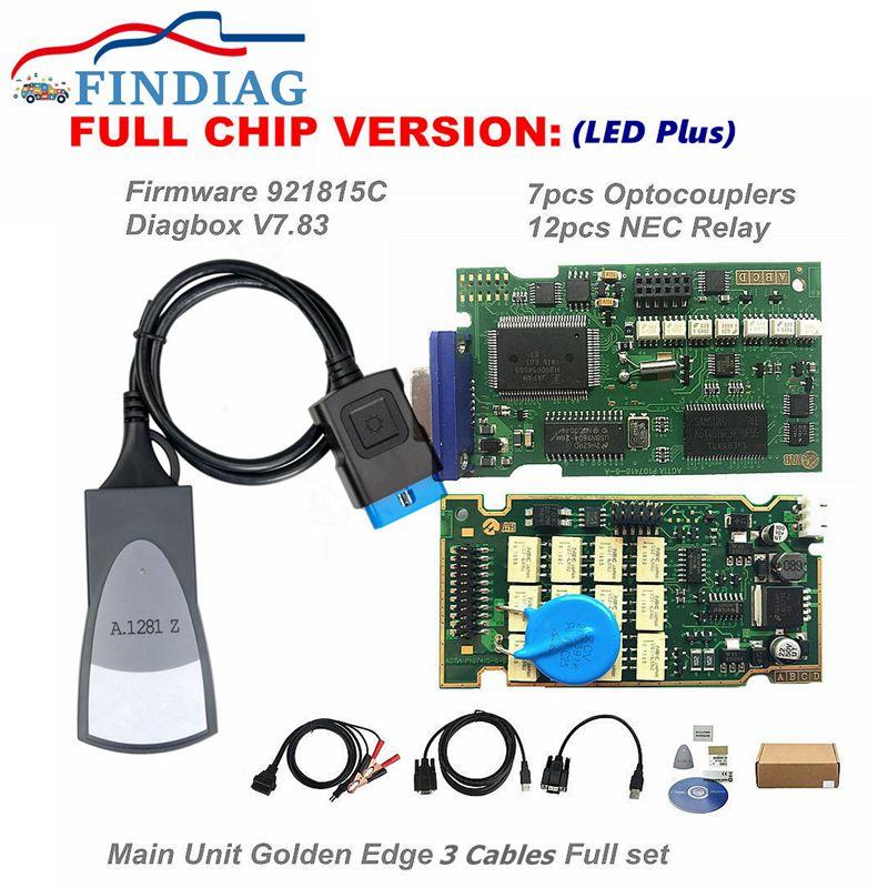 Firmware 921815C OBDII Code Reader und Diagnose-Tool Scanner Lexia 3 PP2000 Volle Chip Diagbox V 8,55 Für Citroen für Peugeot