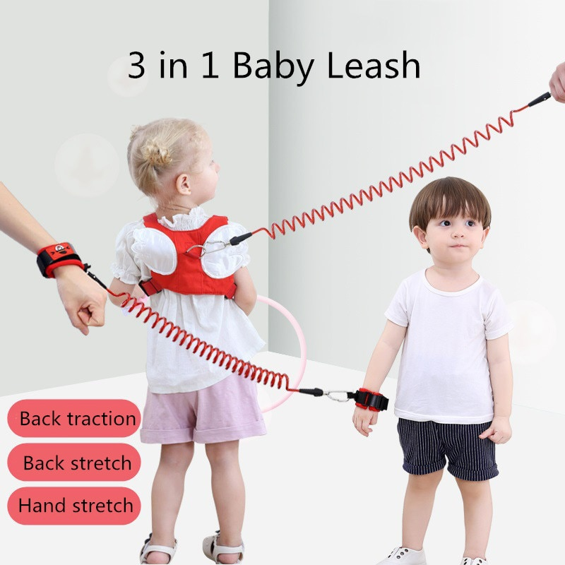 Simple bebé arneses para caminar Anti-perdido cuerda de tracción cuerda mochila correas para los niños de seguridad prevenir la pérdida