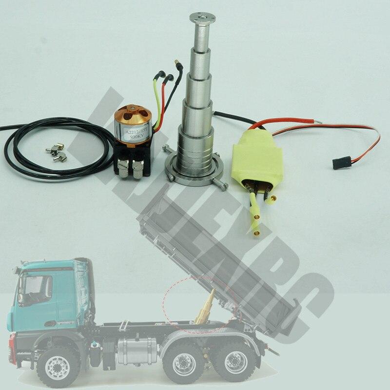 Hydraulic Rod ESC Oil Pump Oil Pipe System Kit for 1/14 Remote Control Truck Trailer TAMIYA 56360 Scania R620