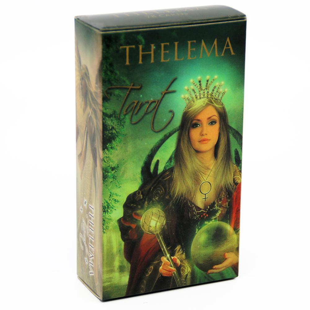 2020 novos cartões de tarô de thelema lo scarabeo com profunda sabedoria e a leveza da verdadeira inspiração leitura deck para iniciantes