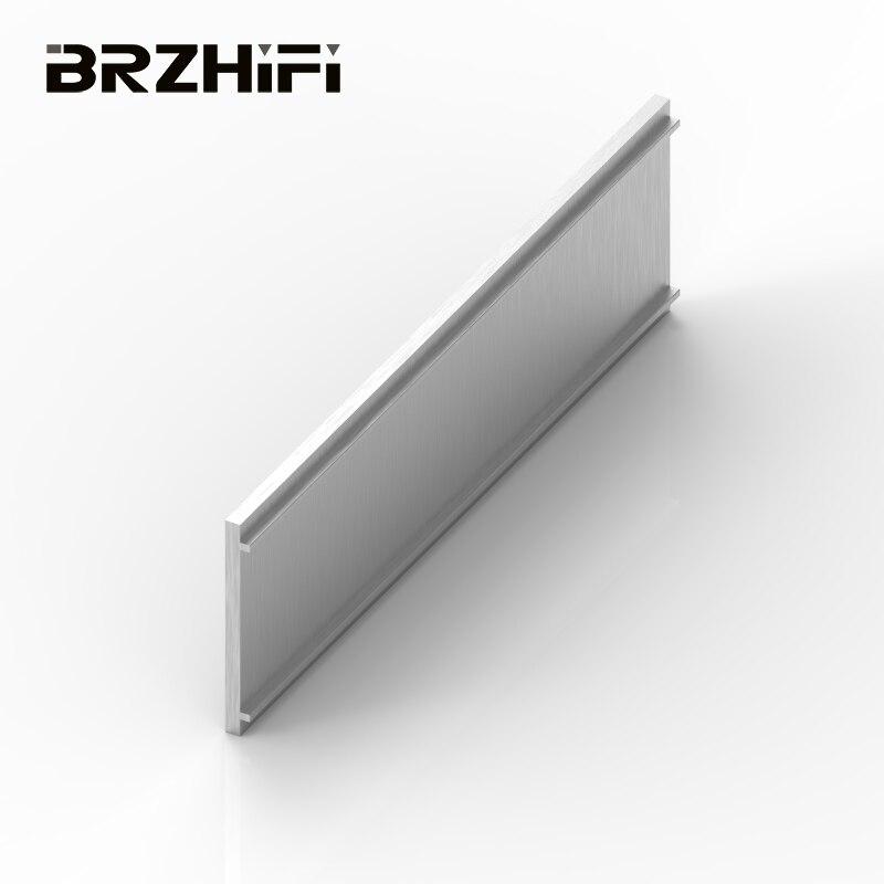 BRIZHIFI سعر الجملة 6061 الألومنيوم الشخصي النتوء عن مضخم الصوت الضميمة الأجهزة أداة لوحة والديكور