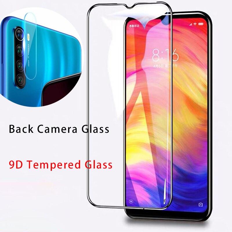 9D закаленное стекло для камеры Xiaomi Redmi K20 Pro Защитное стекло для объектива 7 6 5 Pro 4 4X защита для экрана для Redmi Note 8 Pro