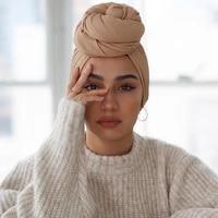 trendy crinkled jersey muslim scarf hijab long shawl for women fashion plain wrinkled head wrap islamic modesty headwear turban