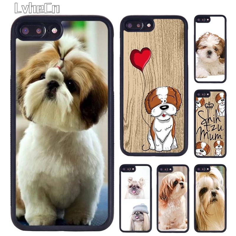 Чехол для телефона LvheCn Shih Tzu Shitzu Dog Puppy для iPhone 5 6 S 7 8 Plus 11 Pro X XR XS Max samsung galaxy S6 S7 S8 S9 S10 plus