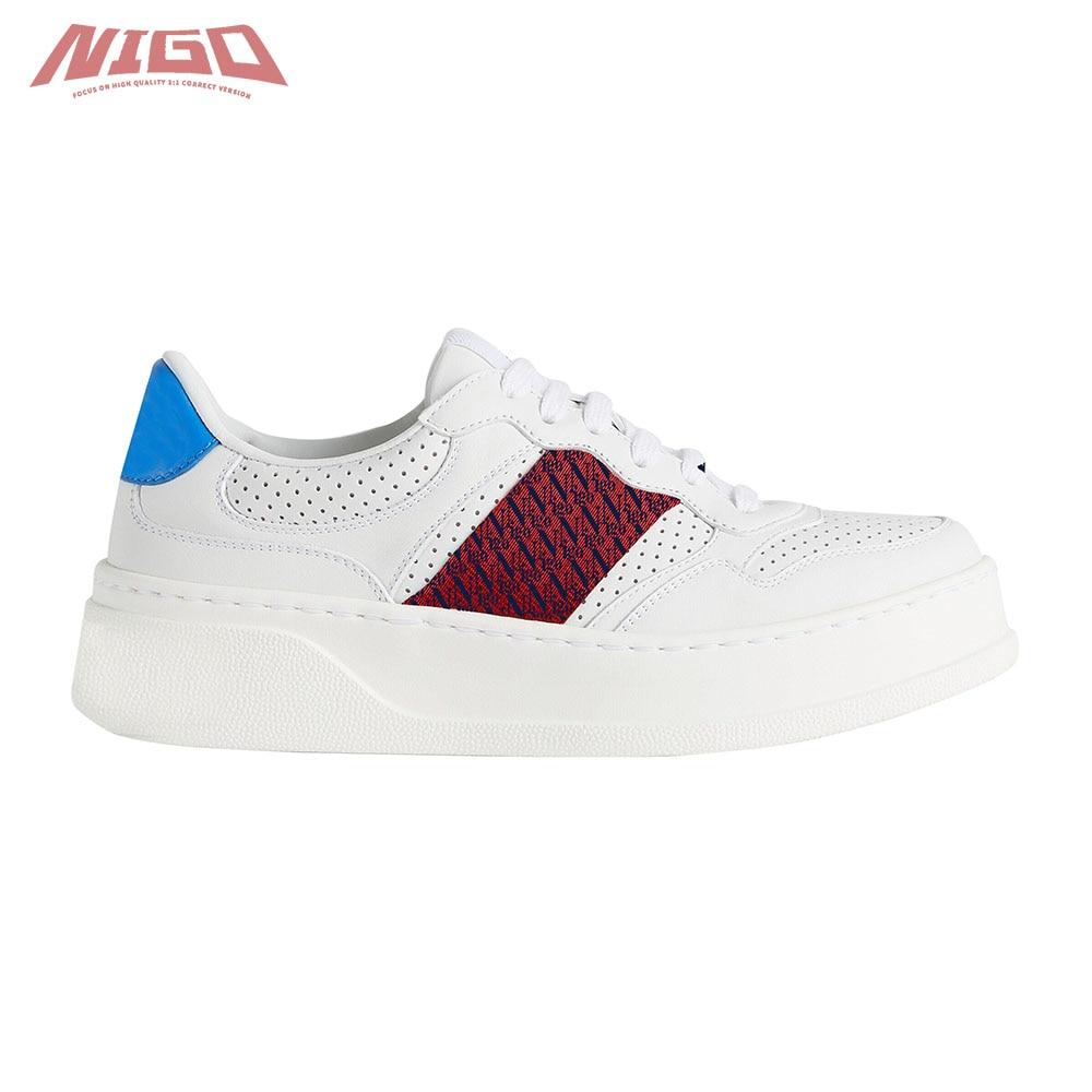 نيجو Ms 21ss المنخفضة قطع أحذية رياضية غير رسمية # nigo55581