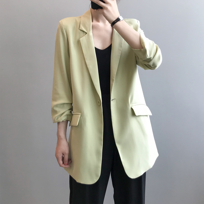 blazer for women autumn new fashion female cffice lady coat 3351#