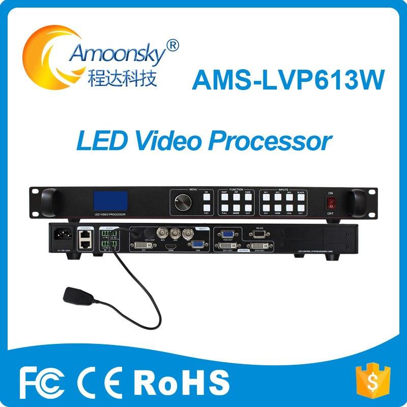 وحدة تحكم شاشة led متعددة الوظائف مع تمرير ملون حقيقي ، وحدة تحكم wifi ، معالج lvp613w ، سعر المصنع