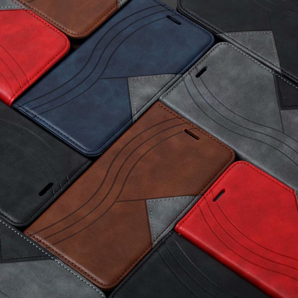 Carteira flip iphone caso para iphone 11 pro max xr xs 6 6 s 7 8 plus x capa de negócios de corpo inteiro multifuncional magnético couro do plutônio