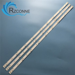 """LED Backlight strip 9 lamps For Philips 43""""TV ShineOn 2D03459 TPT430H3 43PFF5282 LE43M3776"""