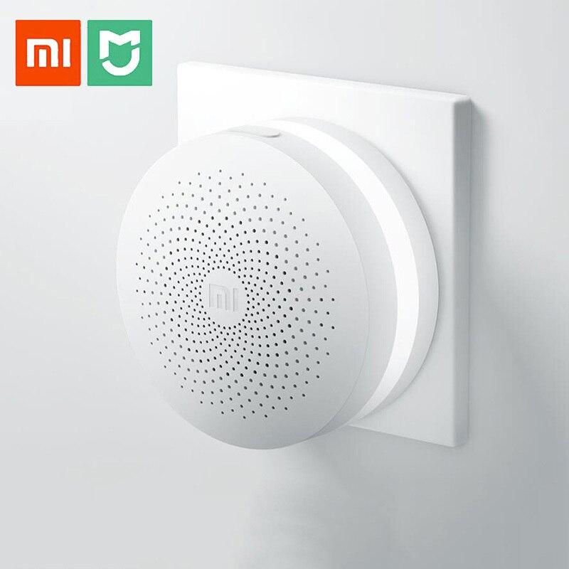 Xiaomi Gateway 2 Mijia Smart Home Kits الأصلي, نظام إنذار، راديو التحكم، Yi Camers ، Mi Door مستشعر Bell درجة الحرارة