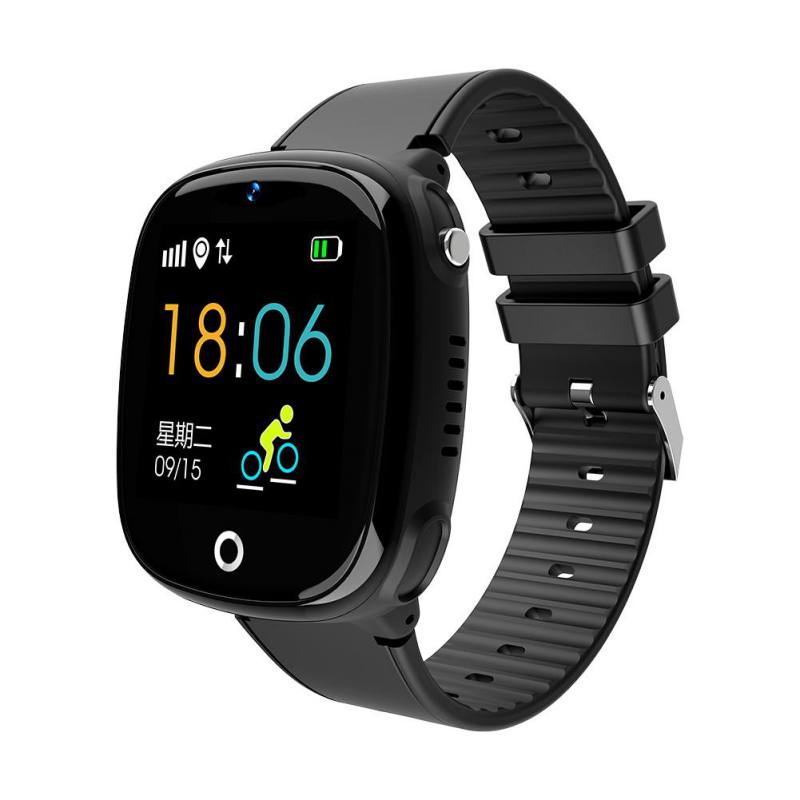 Doble posicionamiento teléfono salud deportes Monitor de seguridad relojes inteligentes niños IPX67 impermeable largo espera GPS + LBS reloj inteligente