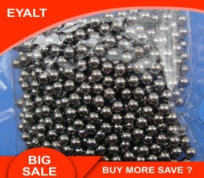 Lotes 3MM 4MM 5MM 6MM 7MM 8MM 9MM 10MM de diámetro bolas de acero pelotas de caza accesorios de pesca al aire libre herramienta BB bolas inoxidable