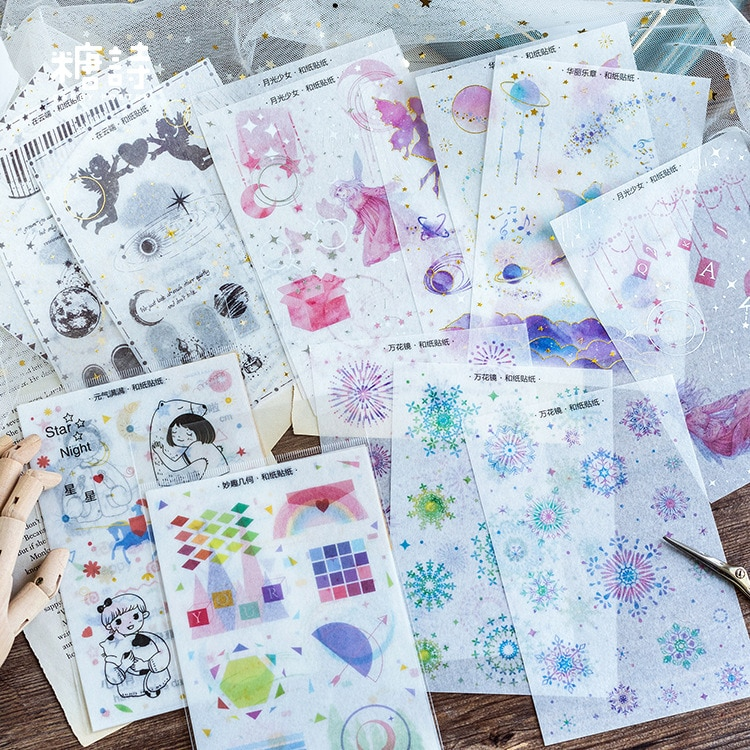 1 pcs Kawaii Stationery Sticker full of vitality Diary Planner Decorative Mobile Stickers Scrapbooking Craft