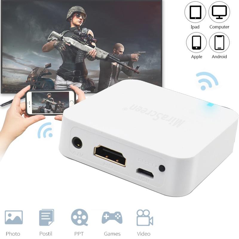X7 واي فاي جهاز استقبال للتليفزيون HDMI-متوافق العرض الأصلي دونغل استقبال شاشة مرآة لاسلكية ل iOS أندرويد سيارة أي يلقي