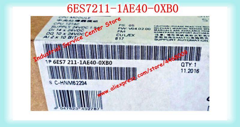 6ES7211-1AE40-0XB0 جديد SIMATIC S7-1200 CPU 1211C DC/DC/DC PLC
