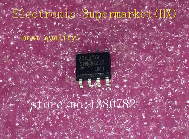 شحن مجاني 50 قطعة/الوحدة 23K256-I/SN 23K256 SRAM 256 كيلوبت 20MHZ SOP-8 IC في الأسهم!