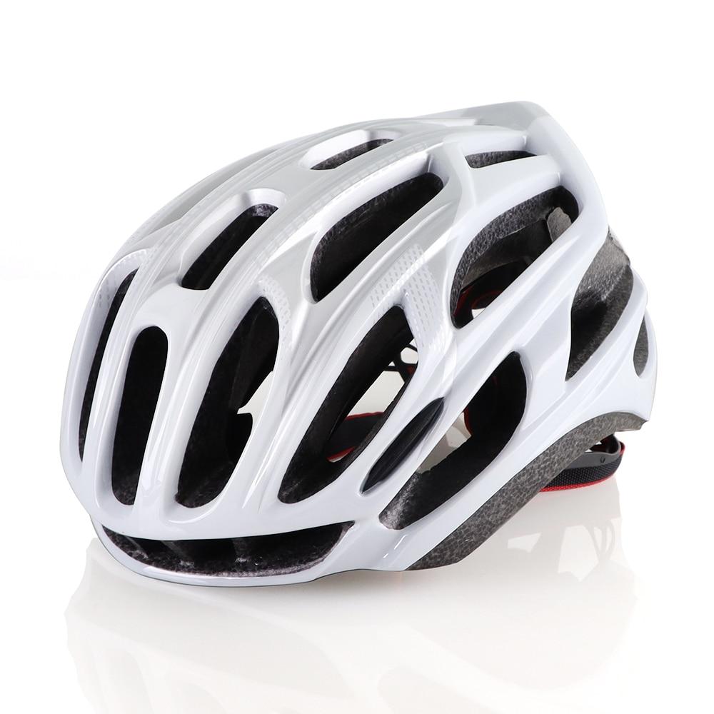 Casco de ciclismo ultraligero de Casco de Bicicleta de carretera, moldeado integralmente...