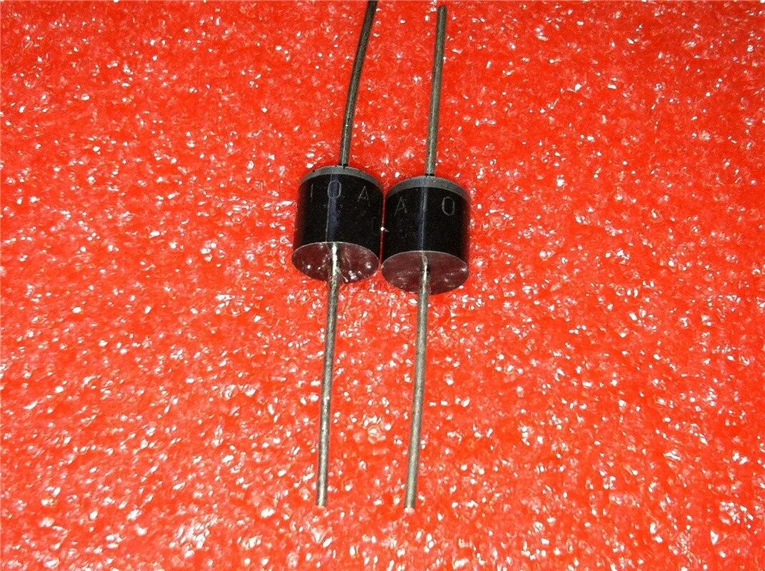 10 unids/lote diodo rectificador de 1N5408 1N5404 1N5401 1N5822 1N5818 UF5408 UF5402 6A10 10A10 hacer-27 en Stock