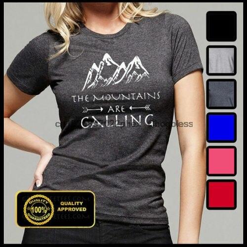 Montanhas estão chamando camiseta as montanhas estão chamando eu devo ir tshirt