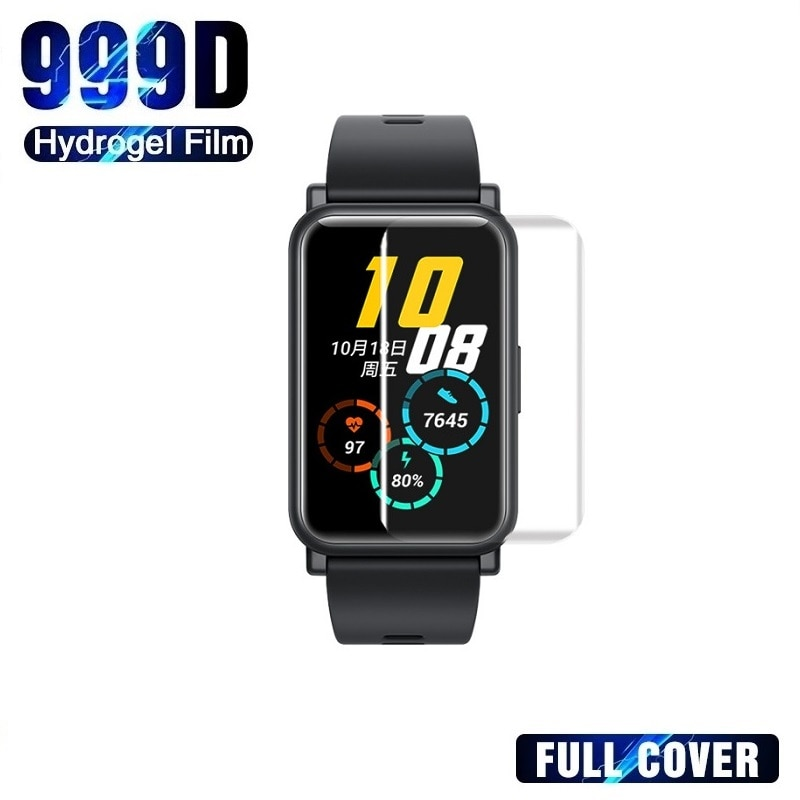 Vollständige Abdeckung Screen Protector für Honor Uhr ES Screen Protector für Huawei Uhr Fit (Nicht Glas) schutz Film Folie