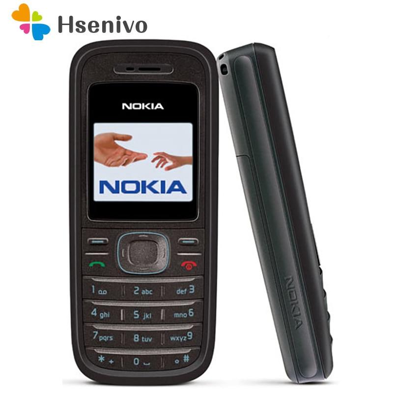 Nokia 1208-هاتف خلوي أصلي مجدد ، Nokia 1208 ، GSM ، مفتوح