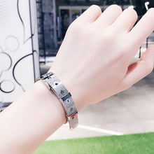 Personalized Simple Decorative Strap Bracelet Female Personality Hipster Fashion Couple Bracelet Tit