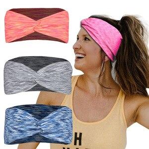 Sport Hair Accessories Running Yoga Hairband Headband Absorption Sweat Antiperspiration Headwear Customization