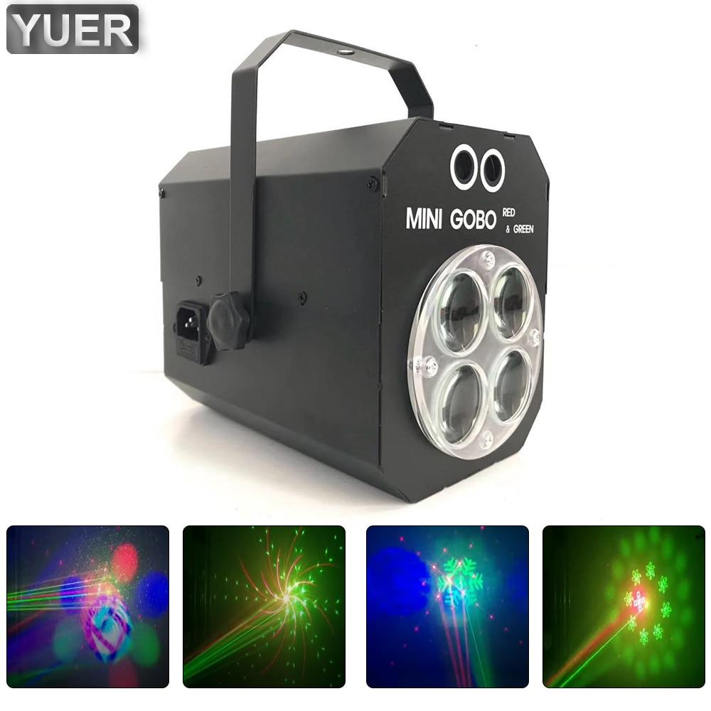 3W Mini Pattern LED RGBW Effect Spotlights Light DMX512 RG Laser Light Projector For Birthday Party DJ Bar Disco Stager , etc