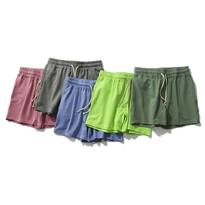 AIMPACT Sexy Homewear Soild Cotton Men Sweat Shorts Gym Athletic Running Jogging Sports French Terry Shorts AM2351