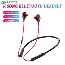 T550 4 х ядерный звук интеллигентая (ый) Шум снижение Bluetooth 5,2 караоке с завязками на шее In Ear Bluetooth гарнитура Auriculares Bluetooth наушники