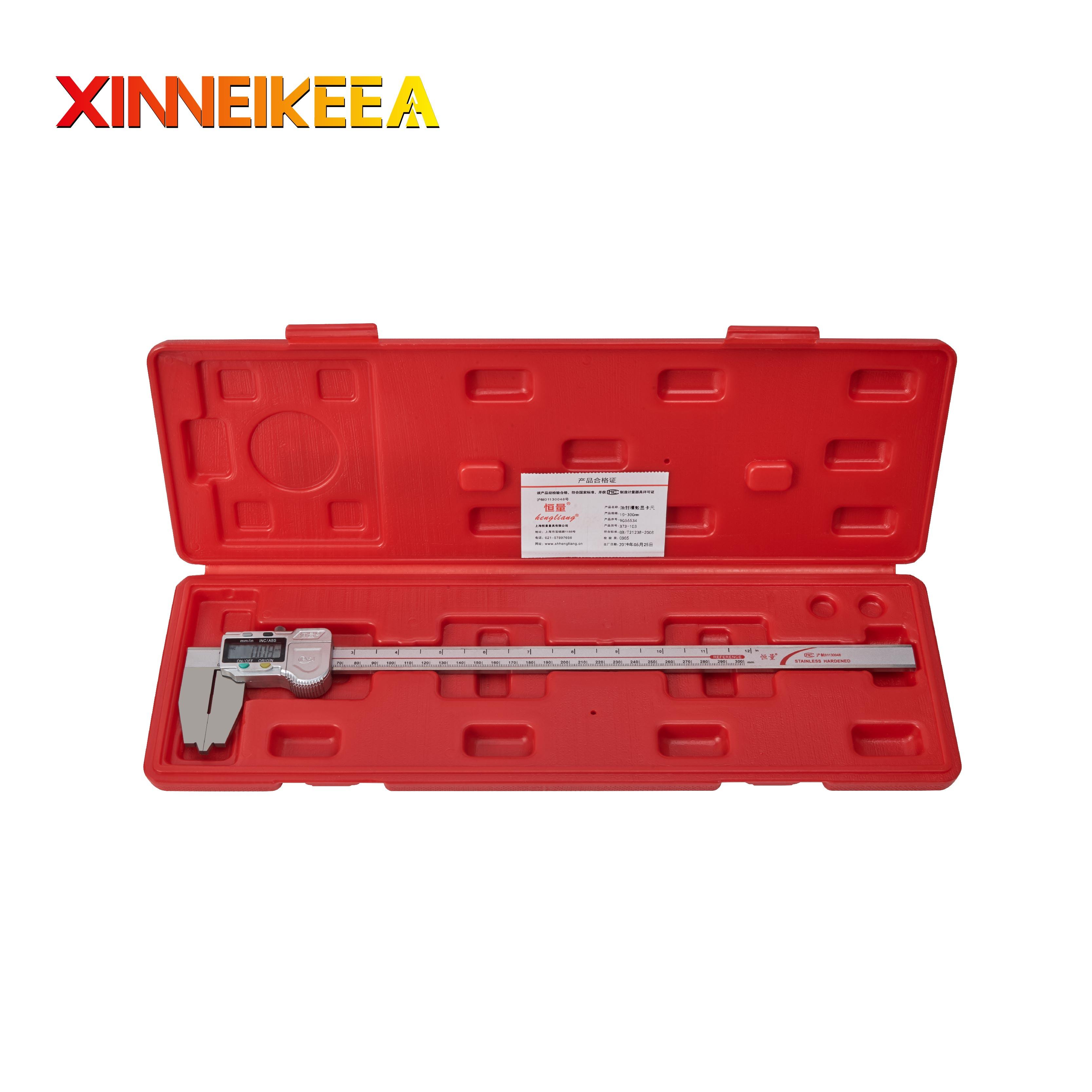 Oil Seal Groove Digital Display Caliper Stainless Steel Caliper Digital Display Caliper Measuring Tool 0-300mm 0-500mm Calipers