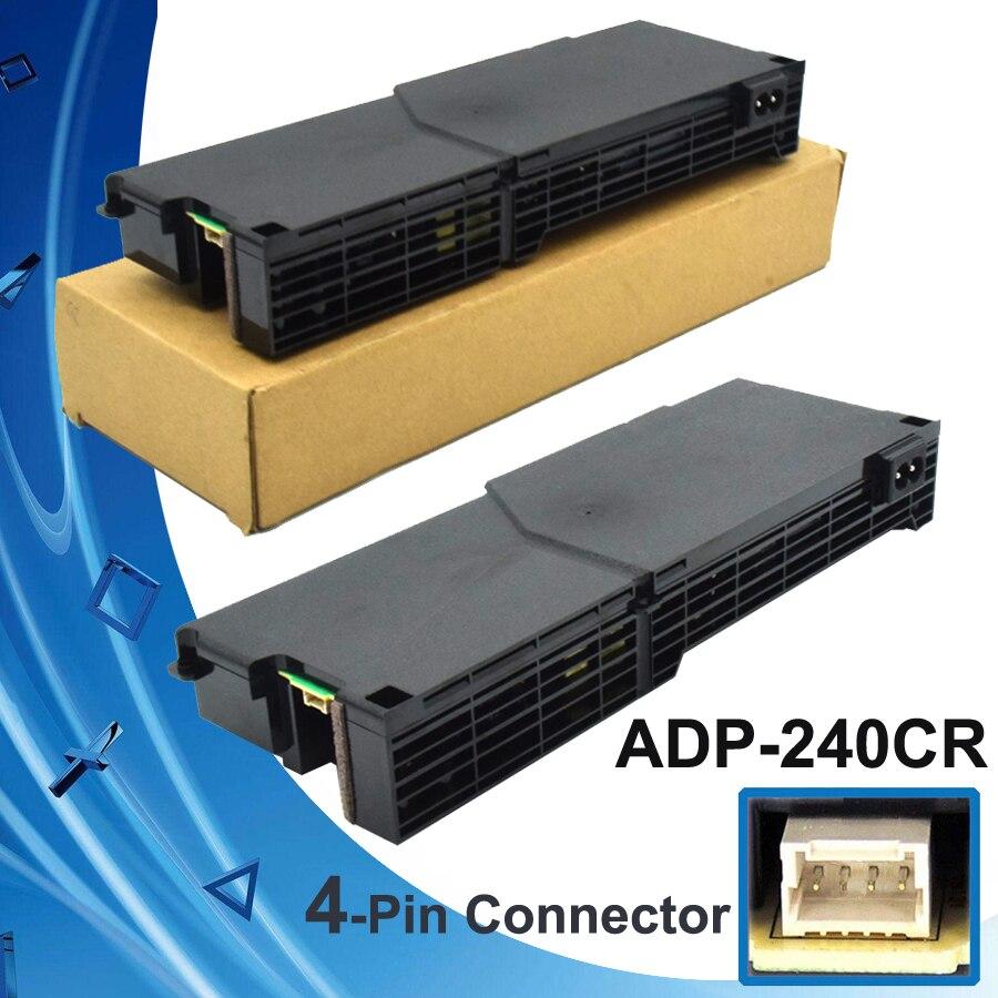 Ps4 original placa de alimentação ADP-240CR peças reposição reparo 4 pinos para sony playstation 4 1100 series console acessórios