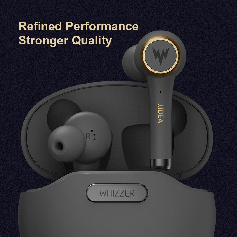 WHIZZER TP1S TWS V5.0 Bluetooth earphone noise reduction wireless HIFI IP5X наушники беспроводные 3D stereo fone With Microphone enlarge