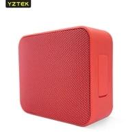 yztek bluetooth speaker portable outdoor loudspeaker wireless mini squar 3d 5w stereo music surround support fm tfcard bass box