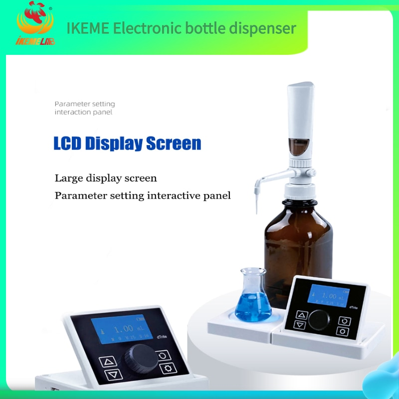 Electronic Bottle-Top Dispenser  Lab Electronic Titrator  Digital Display Teaching Equipment and Supplies