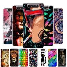 Case For Samsung A80 Phone Case Silicone Soft TPU Cover For Samsung Galaxy A70 A30 A20 A10 A30S A50S Case coque S10E Note10 Plus