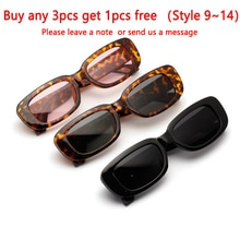 Travel Vintage Square Sun Glasses Women Retro Sunglasses  Luxury Brand Rectangle Men Women  Sun Glas
